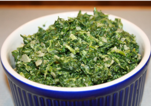 Lawry's original creamed spinach
