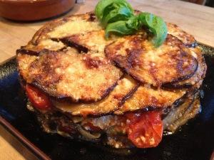 Eggplant Gateau