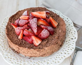 Mary Berry's easy frozen chocolate torte