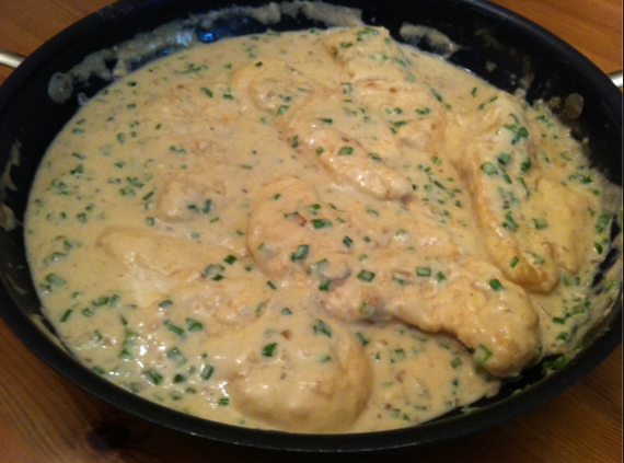Chicken Breast In Stilton Sauce Tastetickler