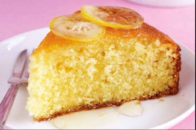 Semolina Coconut And Marmalade Cake Tastetickler