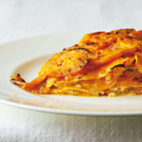 Asian sweet potato gratin.